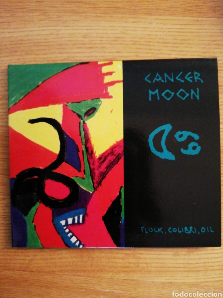 CANCER MOON. FLOCK, COLIBRI, OIL. MUNSTER RECORDS ‎– MR CD 023. SPAIN 1993. (Música - CD's Rock)