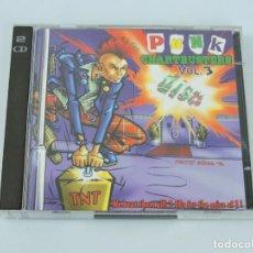CDs de Música: VARIOUS  PUNK CHARTBUSTERS VOL. 3 2XCD. Lote 160402962
