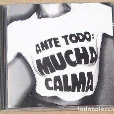 CDs de Música: SINIESTRO TOTAL - ANTE TODO MUCHA CALMA (CD) 1992 - 30 TEMAS. Lote 160407710