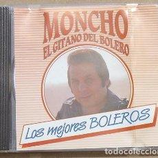 CDs de Música: MONCHO EL GITANO DEL BOLERO - LOS MEJORES BOLEROS (CD) 1993 - DIAMANTE, 10 BOLEROS. Lote 160425038