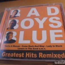 CDs de Música - RAR CD. BAD BOYS BLUE. GREATEST HITS REMIXED. 16 TRACKS - 160436970