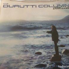 CDs de Música: THE DURUTTI COLUMN - REBELLION (CD, ALBUM) (2001) (EXCELENTE). Lote 160438658
