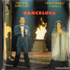 CDs de Música: BARCELONA FREDDIE MERCURY & MONTSERRAT CABALLÉ . Lote 160441466