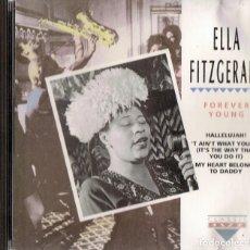 CDs de Música: ELLA FITZGERALD FOREVER YOUNG . Lote 160445054
