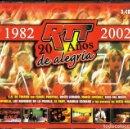 CDs de Música: RTT 20 AÑOS DE ALEGRÍA 1982 - 2002 ( 3 CD). Lote 160445514