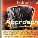 CDs de Música: MÚSICA DE ORO INSTRUMENTAL ACORDEÓN S. SOLIS. Lote 160447162