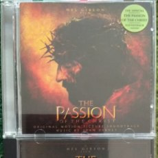 CDs de Música: THE PASSION OF THE CHRIST VOL 1 & 2. Lote 160456593