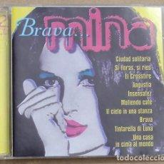 CDs de Música: MINA - BRAVA MINA (2CD) 2000 - EXITOS EN ESPAÑOL - ITALIANO - DIVUCSA. Lote 160458850