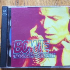 CDs de Música: BOWIE THE SINGLES COLLECTION 2 CDS. Lote 160465722