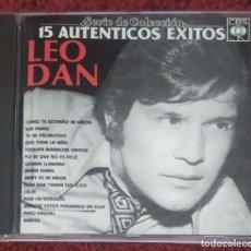 CDs de Música: LEO DAN (15 AUTENTICOS EXITOS) CD 1987 EDICIÓN USA - SERIE DE COLECCIÓN. Lote 160476342