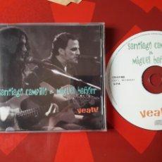 CDs de Música: SANTIAGO CAMPILLO & MIGUEL BAÑÓN - CD YEAH! (ROCK 2001) M-CLAN, LOS MARAÑONES. AUTOEDITADO EN 2001. Lote 160481556