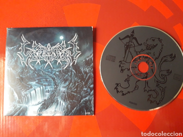 LEGION - CD PROMOCIONAL UNSEEN TO CREATION (BLACK METAL 2003 ) (Música - CD's Heavy Metal)