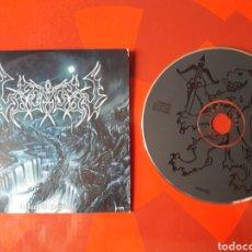 CDs de Música: LEGION - CD PROMOCIONAL UNSEEN TO CREATION (BLACK METAL 2003 ). Lote 160489486