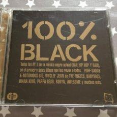 CDs de Música: 100 % BLACK 2 CDS. Lote 160490518