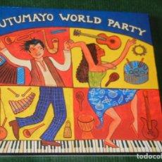CDs de Música: PUTUMAYO WORLD PARTY - 2007. Lote 160494302