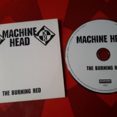 CDs de Música: MACHINE HEAD - CD ALBUM PROMOCIONAL THE BURNING RED (HEAVY METAL THRASH 1999). Lote 160496264