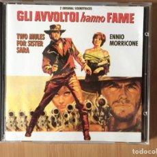 CDs de Música: ENNIO MORRICONE. TWO MULES FOR SISTER SARA (GLI AVVOLTOI HANNO FAME). (CD ALBUM 1994). Lote 160509938