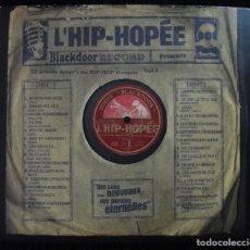 CDs de Música: 2 CD RECOPILATORIO HIP HOP FRANCES VOL 1 - RAP -BLACKDOOR RECORD, 2000 -. Lote 160519414