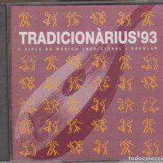 CDs de Música: TRADICIONARIUS 93 DOBLE CD CICLE MÚSICA TRADICIONAL I POPULAR 1993 ROSA ZARAGOZA JAUME ARNELLA . Lote 160539178