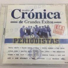 CDs de Música: DIARIO CRONICA DE GRANDES EXITOS PERIODISTAS, BSO. Lote 160540142