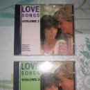 CDs de Música: 2 DISCOS CDS LOVE SONGS. Lote 160544654