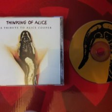 CDs de Música: THINKING OF ALICE CD A TRIBUTE TO ALICE COOPER (USA 2001 SOUTHERN ROCK PUNK ETC). Lote 160548601