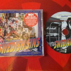 CDs de Música: SWEDISH SINS '97 CD - ENTOMBED, LEADFOOT, THE NOMADS, HELLACOPTERS, BACKYARD BABIES, HAYSTACK, ETC. Lote 160548877