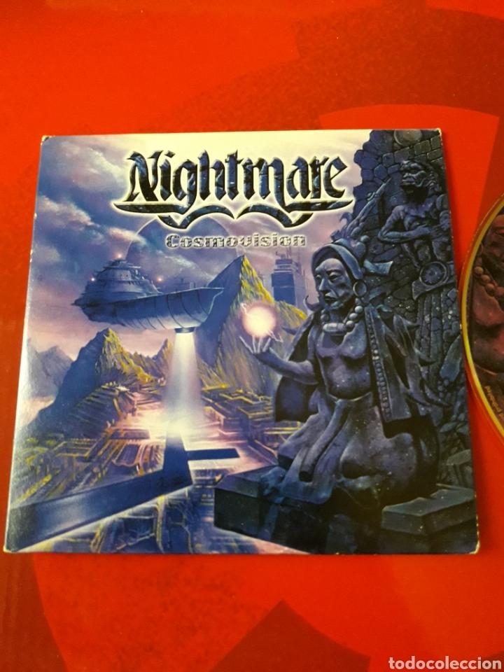 CDs de Música: Nightmare - CD album promocional Cosmovision (Heavy Metal 2001 ) - Foto 2 - 160549144
