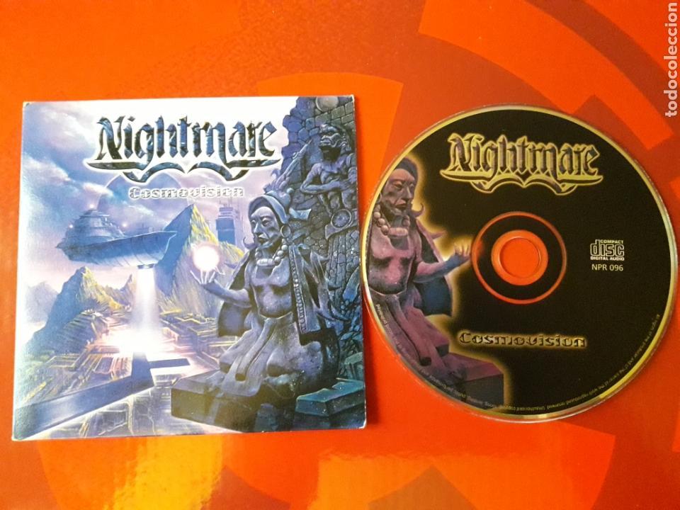 NIGHTMARE - CD ALBUM PROMOCIONAL COSMOVISION (HEAVY METAL 2001 ) (Música - CD's Heavy Metal)
