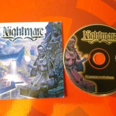 CDs de Música: NIGHTMARE - CD ALBUM PROMOCIONAL COSMOVISION (HEAVY METAL 2001 ). Lote 160549144