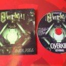 CDs de Música: OVERKILL - CD ALBUM PROMOCIONAL COVERKILL (THRASH HEAVY METAL 1999) KISS, MOTORHEAD, ETC COVERS. Lote 160549656