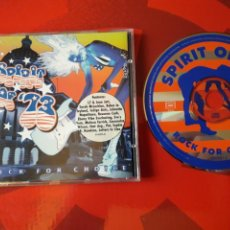 CDs de Música: SPIRIT OF '73: ROCK FOR CHOICE CD (1995 ALTERNATIVE ROCK, FOLK ROCK, POP ROCK) ROSANNE CASH Y OTROS. Lote 160551056