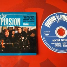 CDs de Música: DOCTOR EXPLOSION - CD EP COME ON SHAKE! (GARAGE ROCK, ROCK AND ROLL). Lote 160554818