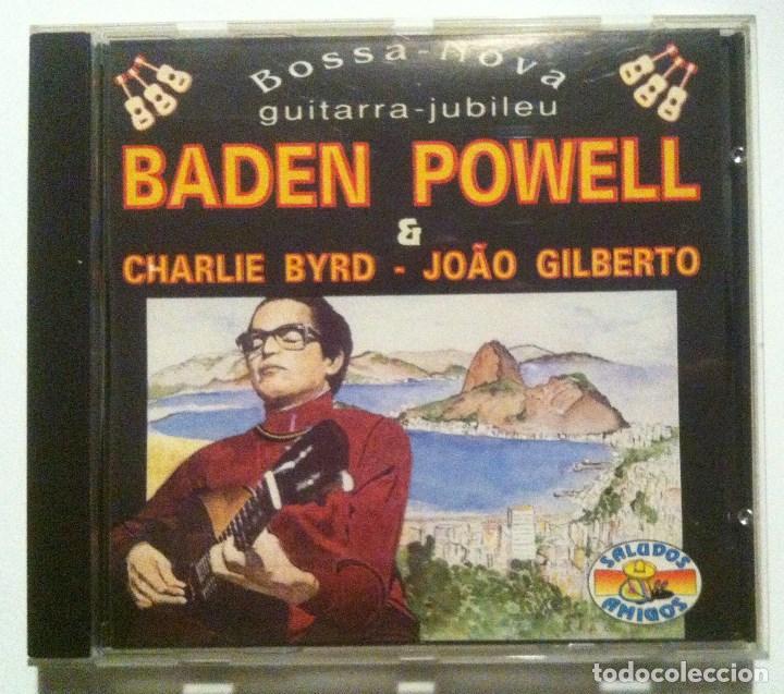BADEN POWELL W/ CHARLIE BYRD & GILBERTO - BOSSA NOVA - CD ITALIANO 1992 - SALUDOS AMIGOS (Música - CD's Jazz, Blues, Soul y Gospel)