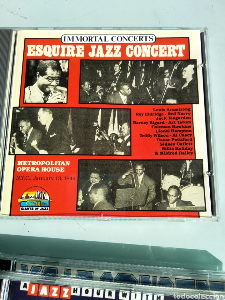 ESQUIRE ALL STARS ‎– ESQUIRE JAZZ CONCERT (Música - CD's Jazz, Blues, Soul y Gospel)