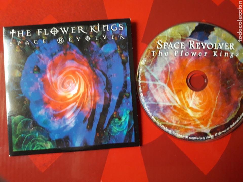 The Flower Kings - CD album promocional Space Revolver (prog rock 2000