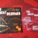 CDs de Música: THE GREAT DECEIVER - CD ALBUM PROMOCIONAL A VENOM WELL DESIGNED (HARDCORE DEATH METAL 2002 ). Lote 160562838