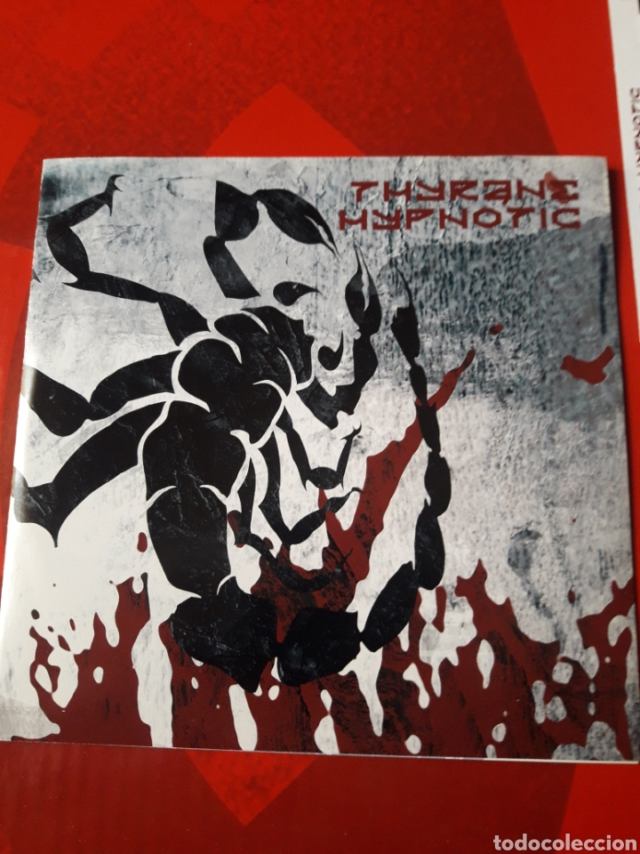 CDs de Música: Thyrane - CD album promocional Hypnotic (Black metal Industrial 2003 ) - Foto 2 - 160563749