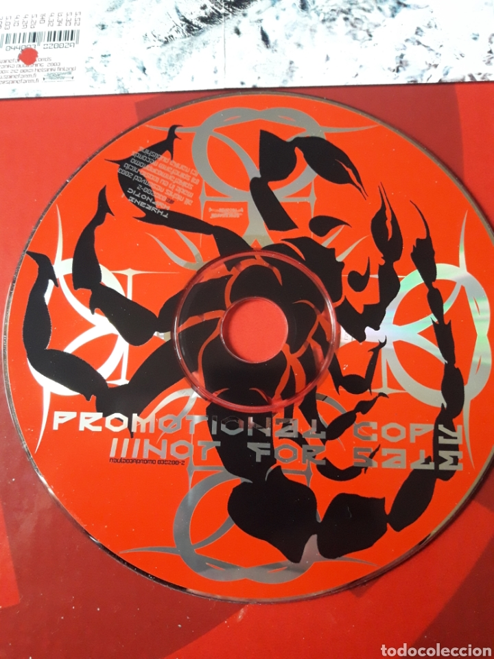CDs de Música: Thyrane - CD album promocional Hypnotic (Black metal Industrial 2003 ) - Foto 3 - 160563749