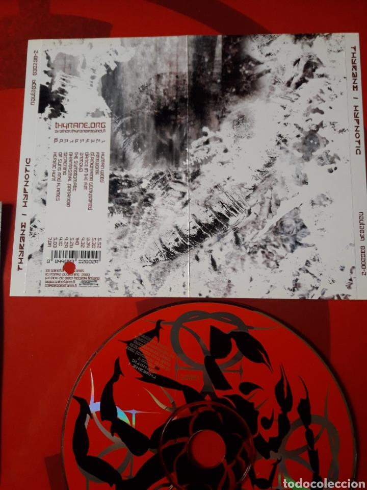 CDs de Música: Thyrane - CD album promocional Hypnotic (Black metal Industrial 2003 ) - Foto 4 - 160563749
