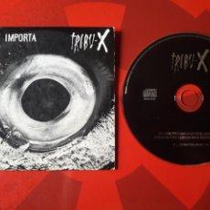 CDs de Música: TRIBU X - CD SINGLE PROMOCIONAL NO ME IMPORTA + ENTREVISTA (FUNK METAL 1996). Lote 160565394
