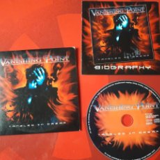 CDs de Música: VANISHING POINT - CD ALBUM PROMOCIONAL TANGLED IN DREAM (PROGRESSIVE HEAVY METAL 2000). Lote 160568281