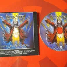 CDs de Música: ZONATA - CD ALBUM PROMOCIONAL TUNES OF STEEL (SYMPHONIC ROCK SPEED METAL HEAVY 1999). Lote 160573757