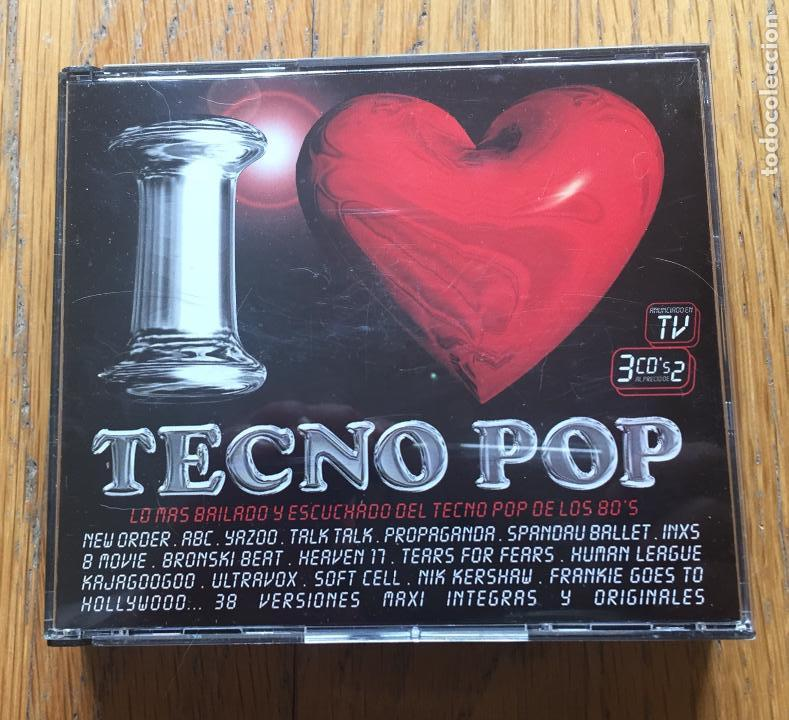 I LOVE TECNO POP 3CDS (Música - CD's Techno)