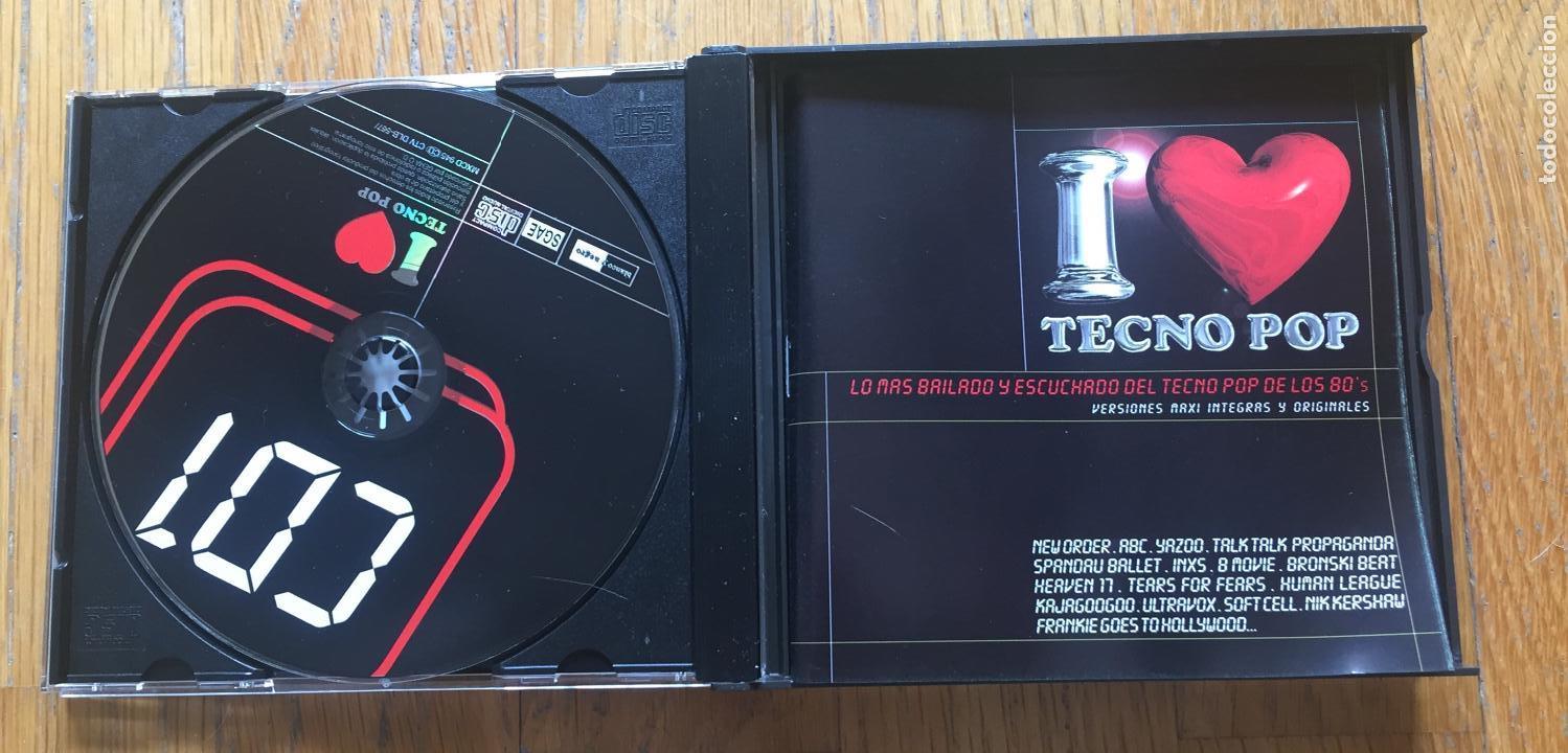 CDs de Música: I LOVE TECNO POP 3cds - Foto 4 - 160584530
