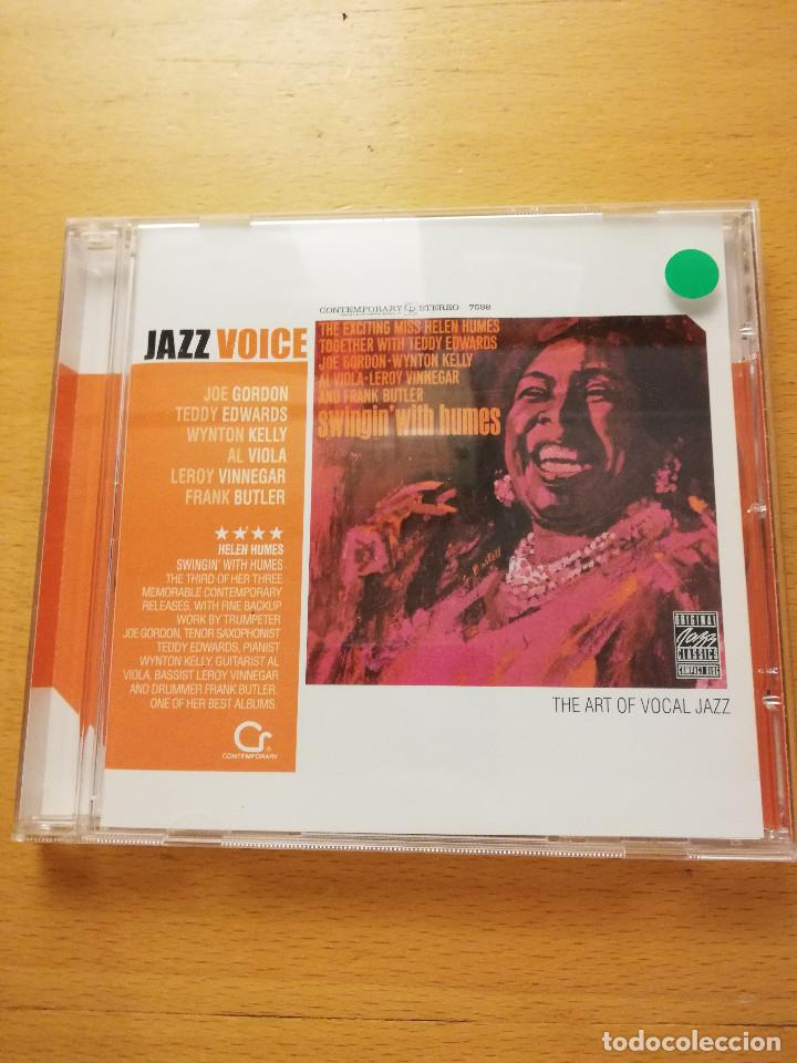 HELEN HUMES. SWINGIN' WITH HUMES (CD) JAZZ VOICE (Música - CD's Jazz, Blues, Soul y Gospel)