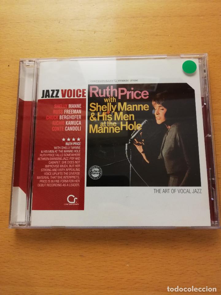RUTH PRICE WITH SHELLY MANNE & HIS MEN AT THE MANNE HOLE (CD) JAZZ VOICE (Música - CD's Jazz, Blues, Soul y Gospel)