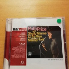 CDs de Música - RUTH PRICE WITH SHELLY MANNE & HIS MEN AT THE MANNE HOLE (CD) JAZZ VOICE - 160591218