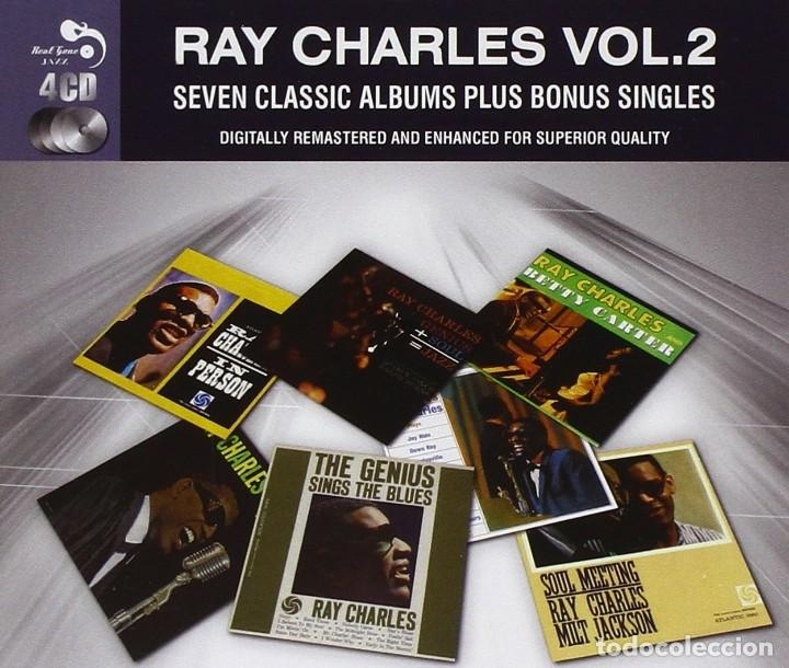 RAY CHARLES SEVEN CLASSIC ALBUMS PLUS VOL 2 PRECINTADA (Música - CD's Jazz, Blues, Soul y Gospel)