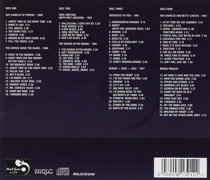 CDs de Música: ray charles Seven Classic Albums plus vol 2 precintada - Foto 2 - 160604298